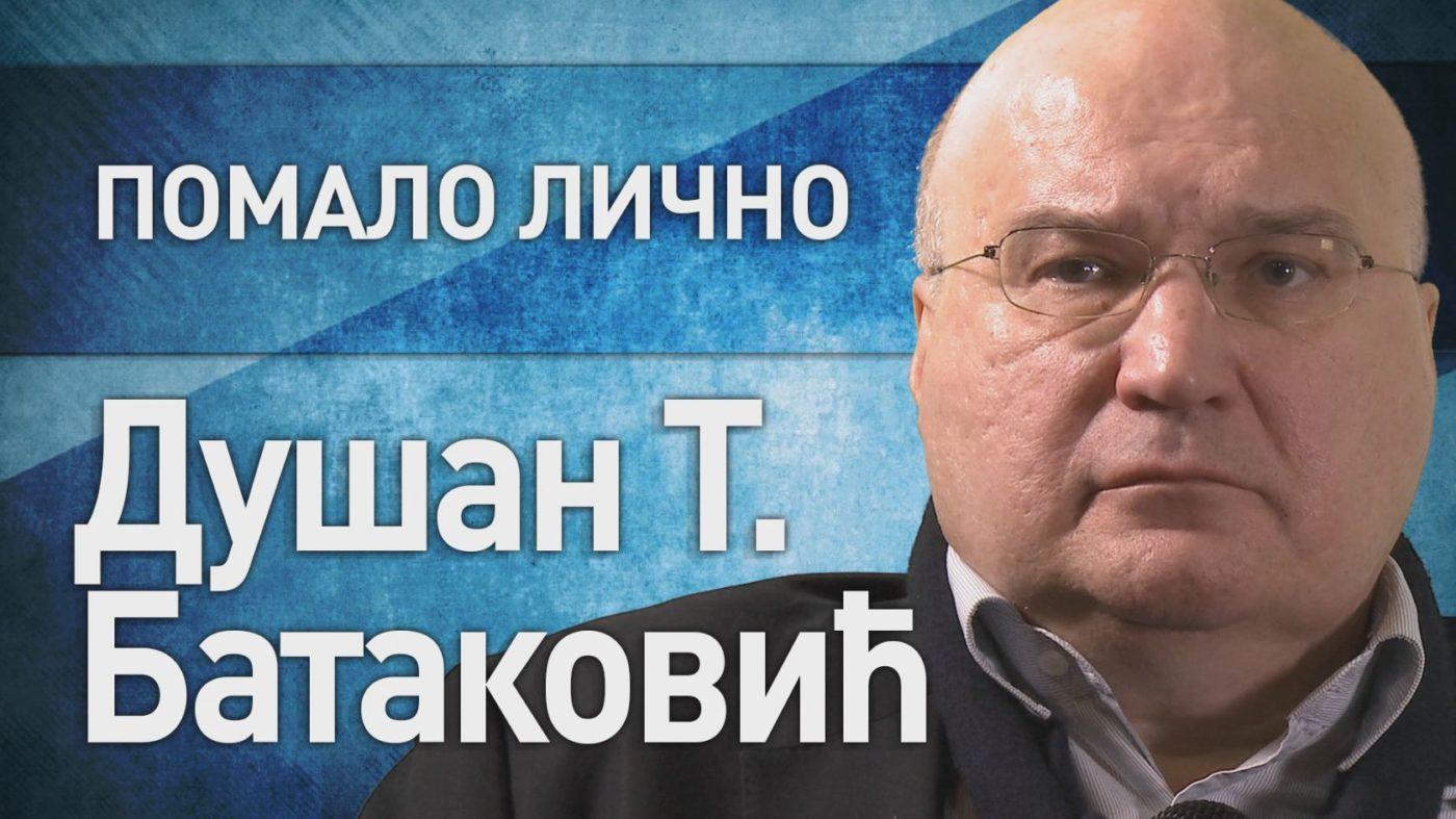 Душан Батаковић, кадар из емисије Зрно по зрно