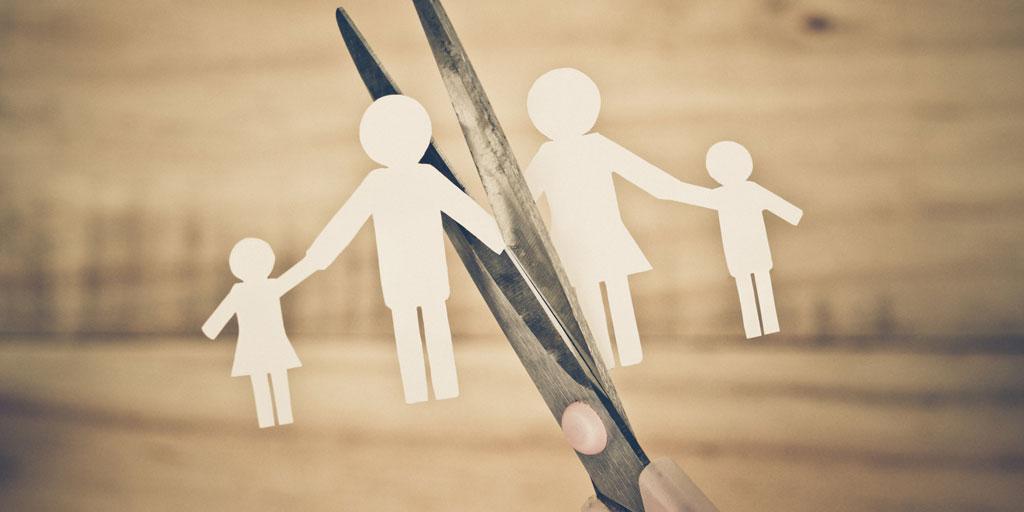 Развод: илустрација