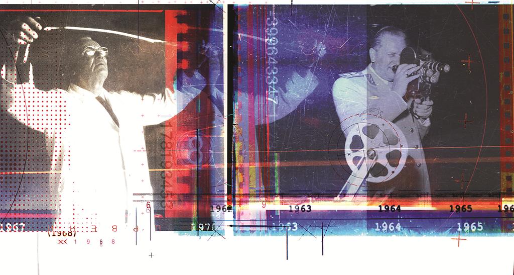 Црни талас, илустрација са корица на којој је Тито