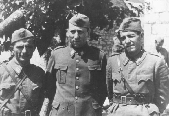 Озна (основана на Дан републике), Александар Ранковић са сарадницима