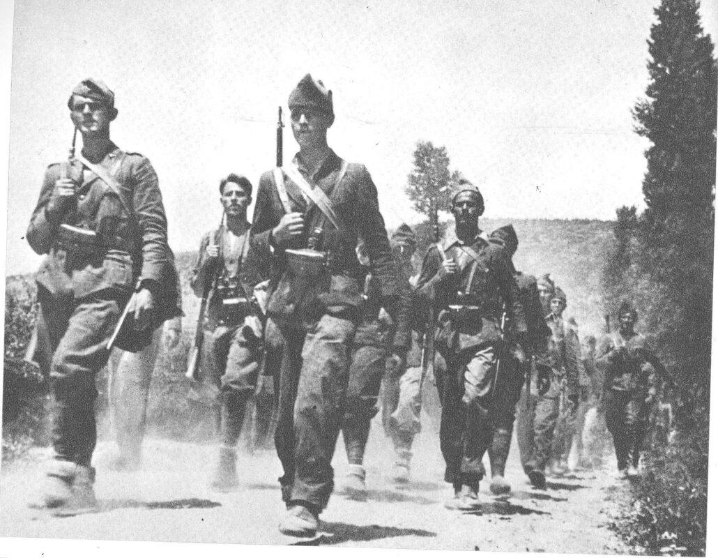 Партизани у Далмацији