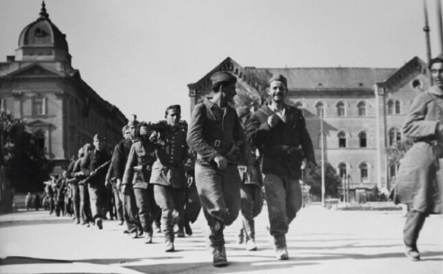 Партизани у Загребу