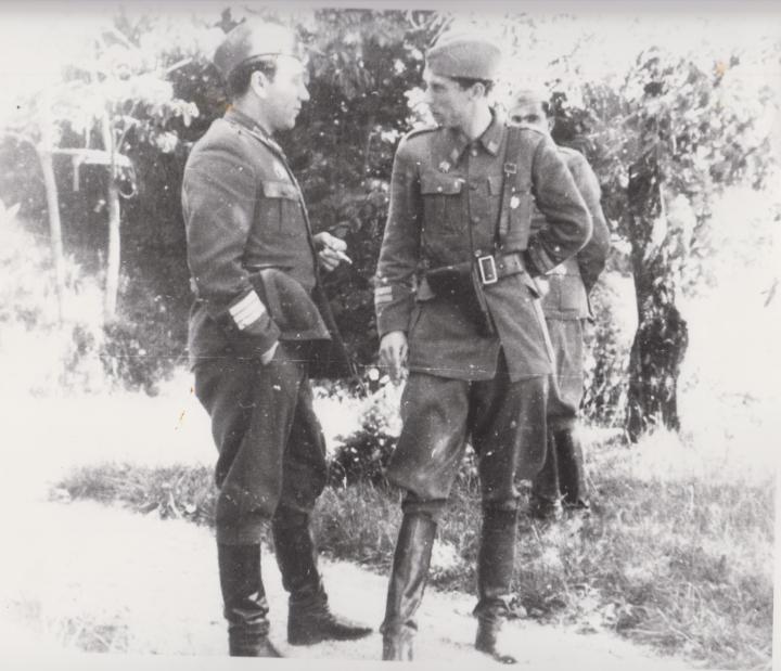 ОЗНА: Ранковић и Крцун