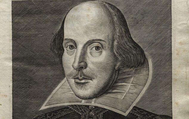 Шекспир, портрет из 1623. године