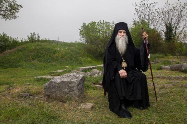Портрет Митрополита Амфилохија (Фото: Светигора)